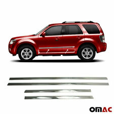 For Mercury Mariner 2008-2011 Chrome Side Door Trim Cover Stainless Steel 4 Pcs