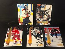 1994-95 Pinnacle Hockey LOT of ( 5 ) ARTIST'S PROOF Parallel Cards SP Rare HTF