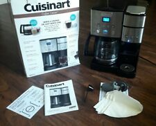 CuisinartCoffee Center Ss-15 12-Cup Coffeemaker and Single-Serve Brewer