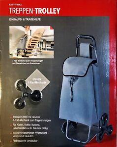 EASYmaxx Einkaufstrolley Treppensteiger Einkaufsroller faltbar Hackenporsche