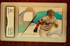 GRADED BASEBALL CARD 2017 KYLE SEAGER JERSEY RELIC MARINERS TOPPS GEM MINT 10