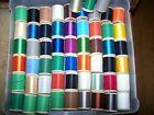 57 Spools Colored Gudebrod Nylon Thread Size A & D