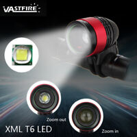 Road Bike Zoomable XML T6 LED Front Bicycle Light Cycling Headlight Head Torch C