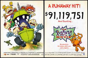 THE RUGRATS MOVIE__Original 1999 Trade print AD / movie promo__Nickelodeon