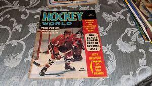 1973 Hockey World NHL WHA Magazine Keith Magnuson