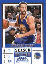 Stephen Curry 2017-18 Panini Contenders Draft Picks Season Ticket #46 Warriors
