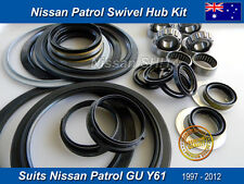 Brand New Swivel Hub Repair Kit Nissan Patrol 4x4 GU Y61 1997-2014 Swivel Hub