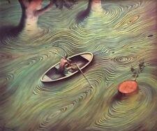 "Vladimir Kush         ""Current""      2001    Giclee on Canvas     BA"