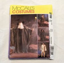 Wizard Witch Hobbit Jedi Costume Pattern McCall 3789 Sz 3-8 Kid Cosplay Uncut
