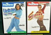 2 x REGION 1 Double DVD Fitness Set TRU2FORM Hip-Hop and Latin Dance Workouts