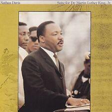 NATHAN DAVIS Suite For Dr. Martin Luther King Jr TOMORROW INTERNATIONAL Vinyl LP
