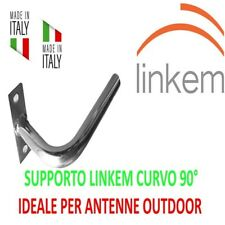 "SUPPORTO STAFFA PALO BALCONE AD ""L"" MINI ADATTO PER LINKEM E ANTENNE OUTDOOR WIF"