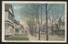 Postcard EASTON Maryland/MD  North Aurora Street Family Houses/Homes view 1910's