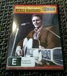 MERLE HAGGARD - LEGENDARY PERFORMANCES - 15 TRACK - RARE DVD (REGION 1)