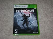RISE OF THE TOMB RAIDER...XBOX 360...***SEALED***BRAND NEW***!!!!!!!!