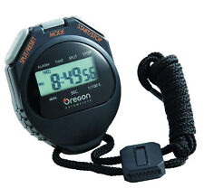Cronometro Professionale Oregon Scientific C510-B Con Orologio e Allarme