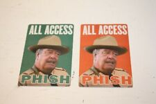 Phish Backstage Passes - Two (2)