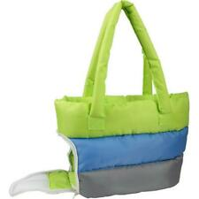 Pet Life B30Gnblmd Bubble-Poly Tri-Colored Insulated Pet Carrier Green And Bl.