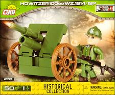 COBI Howitzer 100 mm WZ.1914/19P (2153) - 50 elem. - WWII Polish towed howitzer
