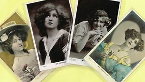 ☆ GABRIELLE RAY ☆ 1900s/1910s Edwardian Theatre Actress Postcards by Beagles