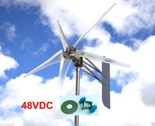 Wind Turbine Generator - 5 Blade Turbines w/ Roller Kit  -  Up to 1685 Watts 48V