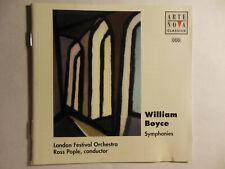 William Boyce Symphonies (Nos 1-8)  [CD]