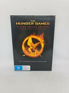 THE HUNGER GAMES Deluxe Edition DVD Region 4 Movie Very Good Condition