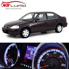 LED Lights Bulbs Kit Gauge Cluster Speedometer Climate for Honda Civic EK 96-00