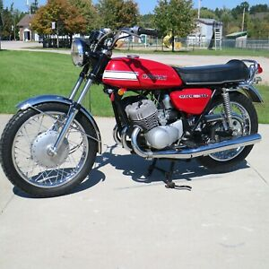 Kawasaki 1970 H1  Decal set (Red Bike)  - The BEST!