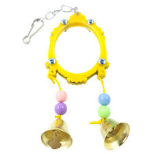 FX- Fashion Mirror Rod Stand Accessory Parrot Toy Bird Play Hanging Ornaments Se