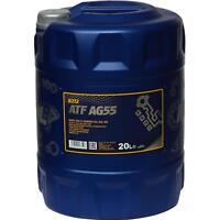 20 Liter MANNOL Getriebeöl ATF AG55 Hydraulic Fluid Automatikgetriebeöl Gear