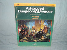 AD&D 1st Edition Module -   I11 NEEDLE   (Complete - VERY RARE and VG+!!)