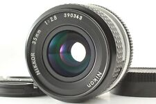 [Exc+++++] Nikon NIKKOR Ai 35mm f/2.8 Wide angle Prime Lens MF from Japan #320