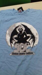 Shadow Demon Coalition T-Shirt Sky Blue XXL NEW RARE STOCK FIND