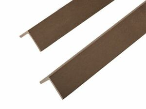 2.2m Composite Corner Edge Trim Beading for Decking and Cladding DIY projects