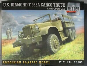 Mirror Models 1/35th Scale US Diamond T 968A Cargo Truck Late Kit No. 35805