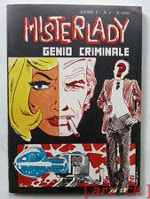 MISTERLADY 1 Genio Criminale FURIO VIANO 1975