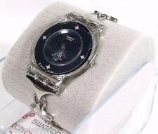 "New! Swiss Made Swatch Watch Skin Line Women's Quartz""ANELLI E STELLE"" SFK244g"
