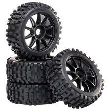Silla de paseo Neumáticos Set llantas Attack con 10-speichenfelge NEGRO 1:8