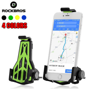 ROCKBROS Bike Bicycle Handlebar Phone Stand 3.5-7 Inch Cellphone Holder Bracket