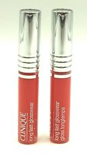 Lot of 2: Clinique Long Last Glosswear Lip Gloss # 27 Happy