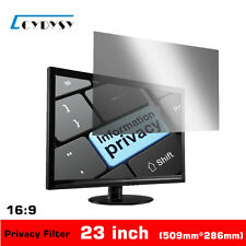 23 inch Privacy Filter Anti-Spy LCD Screen Protective film for 16:9 Widescreen