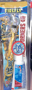 Children's TRANSFORMERS Toothbrush & Travel Kit With Crest Toothpaste