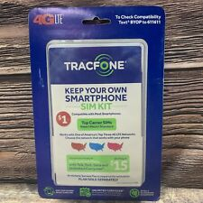 Tracfone Byop Phone Sim Card Activation Kit Bring Your Own iPhone Android Nano
