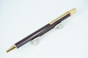 Cartier Ballpoint pen  Santos Brown & Gold Rare #CB02