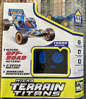 NEW Micro Terrain Titans R/C Vehicle Blue Pro Buggy #2 TOMY 2007 NOS