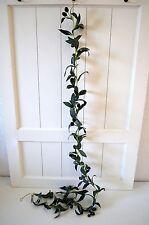 Olivengirlande Oliven Girlande grün Blume künstlich Deko Dekogirlande ca. 180cm