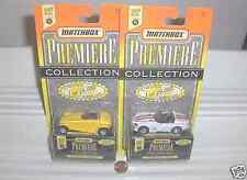 Matchbox 1995 Select Premiere World Class Set #5 Two Models Mint in Mint Box