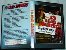 13 LEAD SOLDIERS - DVD - Tom Conway & John Newland