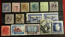 Spain With Colonies Used / Mh / Mnh Stamps Lot